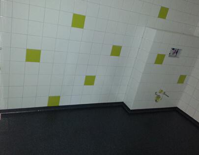 vloer toilet school