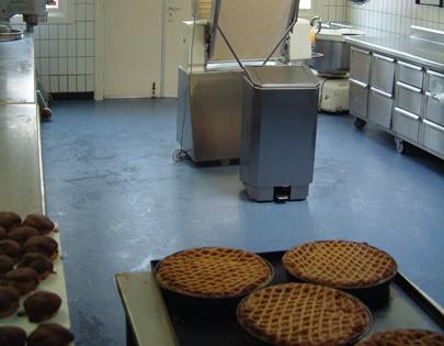Bakkerijvloer taart