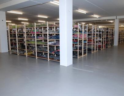 coating magazijn