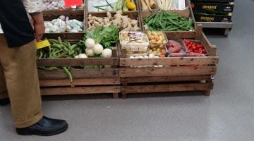 vloeren groentewinkel